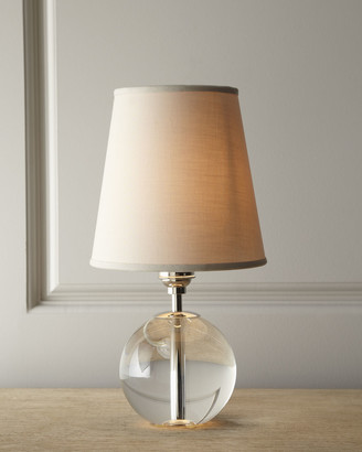 "Horchow ""Crystal Orb"" Mini Lamp"