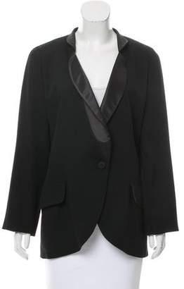 Krizia Structured Wool Blazer