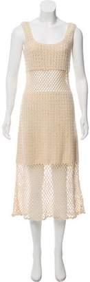 Michael Kors Woven Sleeveless Dress