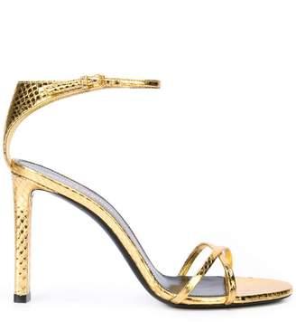 Saint Laurent Amber embossed sandals