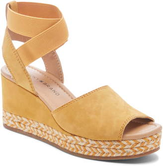 277049c6bbc Yellow Espadrille Wedge Women s Sandals - ShopStyle