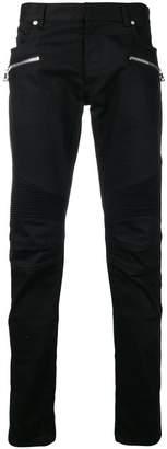 Balmain zip embellished jeans