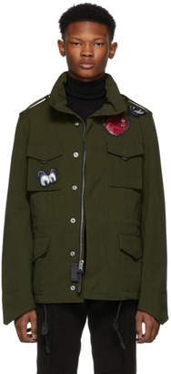 Coach 1941 Green Disney Edition M65 Jacket