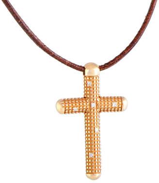 Damiani 18K Rose Gold Diamond Necklace