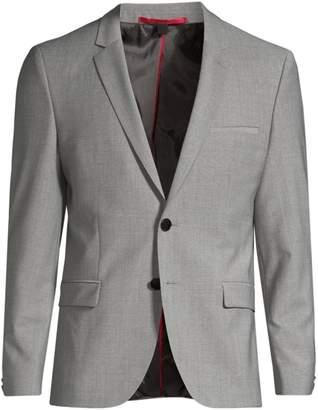 567e849f6 HUGO Arti Extra Slim-Fit Virgin Wool-Blend Single-Breasted Jacket