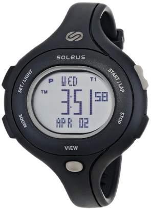 Soleus Women's SR009-001 Chicked Digital Display Quartz Black Watch