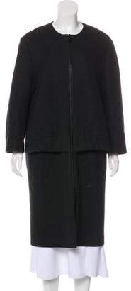Hache Wool Long Coat