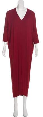 Zero Maria Cornejo Short Sleeve Maxi Dress