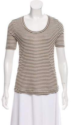 Rebecca Minkoff Striped Short Sleeve Top w/ Tags