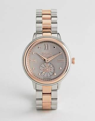 Vivienne Westwood VV158GYTT Chronograph Bracelet Watch In Mixed Metal