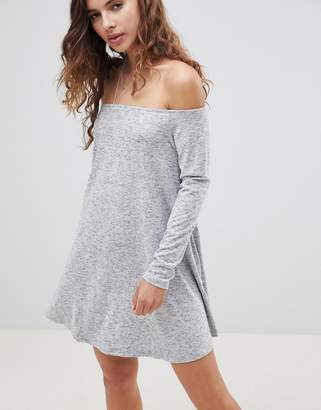 Glamorous Off Shoulder Swing Dress