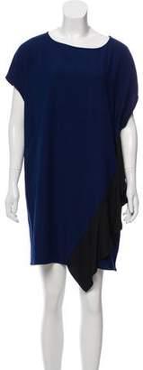 Diane von Furstenberg Oversize Sleeveless Mini Dress w/ Tags