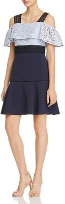 nanette Nanette Lepore Cold-Shoulder Dress