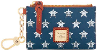 Dooney & Bourke MLB Astros Zip Top Card Case