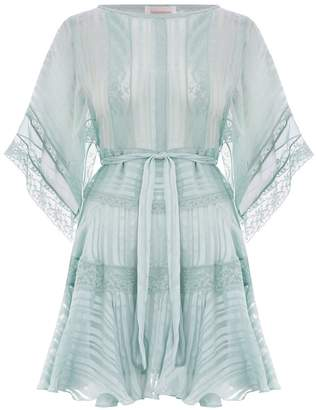 Zimmermann Whitewave Veil Mini Dress