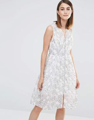 Whistles Marrion Double Layered Dress in Lace $315 thestylecure.com