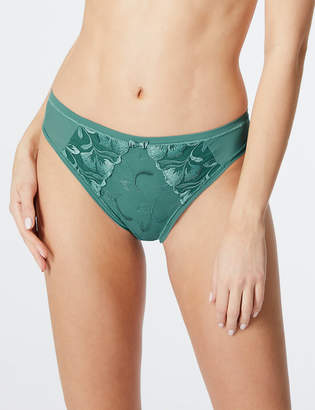 2f51eaaa3b9 M S CollectionMarks and Spencer Olivia Embroidered High Leg Knickers
