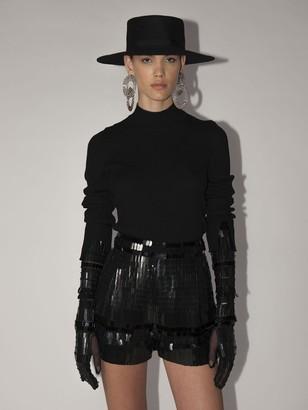 Alberta Ferretti Lvr Exclusive High Collar Sweater