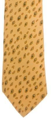Hermes Printed Silke Tie