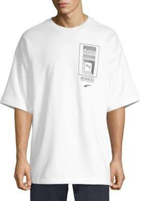 Puma Cotton Logo Tower Tee
