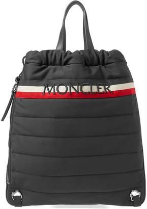 Moncler Soft Shell Drawstring Tote Bag