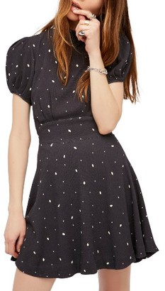 Women's Free People Abbie Fit & Flare Dress $128 thestylecure.com