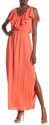 Everly Ruffle Top Maxi Dress