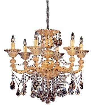 Allegri by Kalco Lighting Mendelsshon 6-Light Candle Style Chandelier by Kalco Lighting