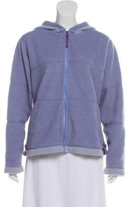 Patagonia Long Sleeve Zip-Up Sweatshirt