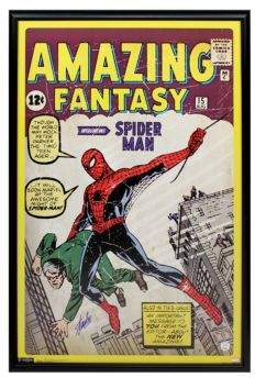 Steiner Sports Stan Lee Autographed Amazing Spider-Man Poster