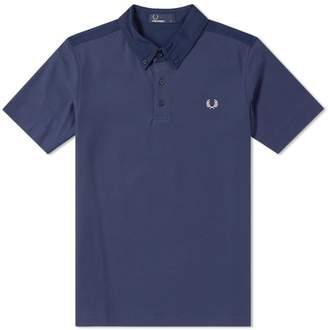 Fred Perry Authentic Woven Collar Pique Polo