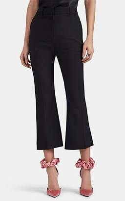 Altuzarra Women's Adler Virgin Wool Crop Flared Pants - Black