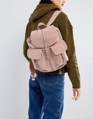 Herschel Dawson Pink Velvet Backpack