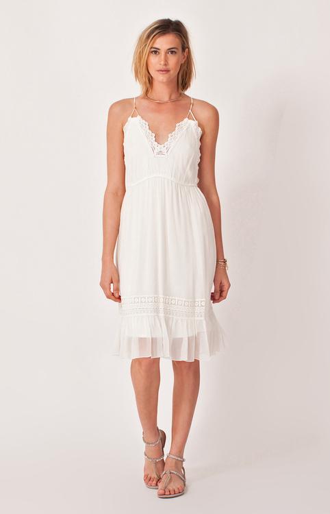 Hale Bob - Prisca Chiffon Dress in Ivory