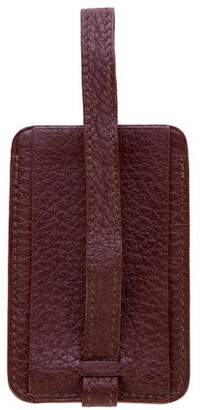 Hermes Clemence Leather Luggage Tag