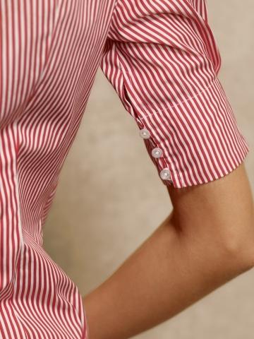Ralph Lauren Blue Label Striped Super-Slim-Fit Shirt