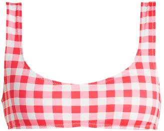 Solid & Striped The Elle gingham bikini top