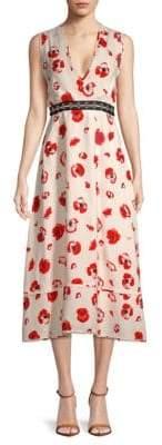 Proenza Schouler Floral Midi Dress