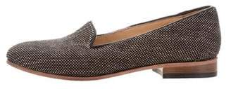 Dieppa Restrepo Canvas Round-Toe Loafers