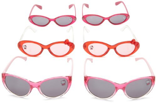 Hello Kitty Girls Sunglasses 6-Pack Party Pack