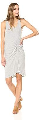Splendid Women's Shirred Dress Grey