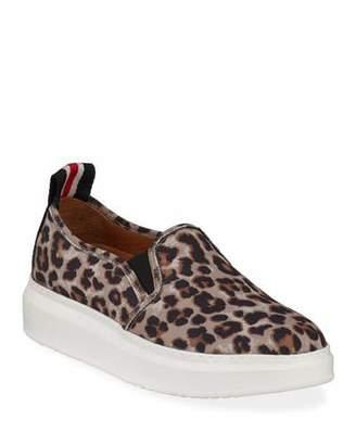 509ab708a954 Veronica Beard Westley Leopard Slip-On Sneakers