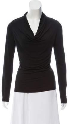 Michael Kors Long Sleeve Cowl Neck Top