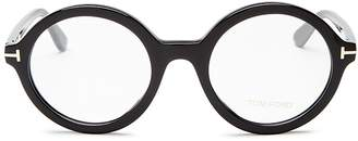 Tom Ford Round Optical Glasses, 52mm