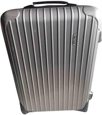 Rimowa Silver Plastic Travel Bag