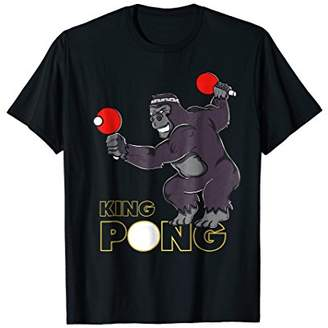 King Pong - Ping Pong Table Tennis T-Shirt