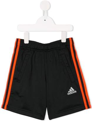 adidas Kids Football 3-Stripes shorts