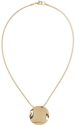 Isabel Marant Gold Big Hurt Necklace