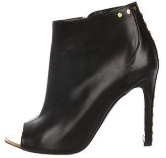 Tom Ford Peep-Toe Ankle Boots