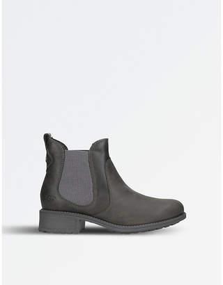 UGG Ladies Grey Classic Bonham Leather Chelsea Boots